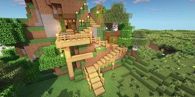 我的世界山洞住宅教程 建造一间温馨的小山洞