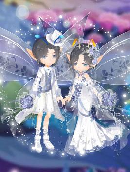 小花仙蔚蓝色的梦套装