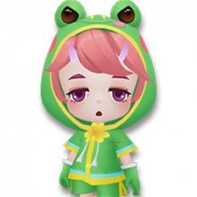 逃跑吧少年小梦魇蛙蛙雨衣套装