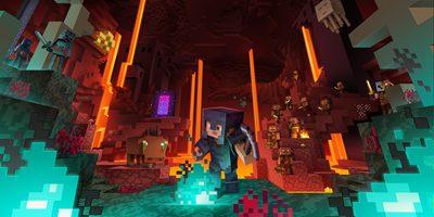 我的世界下界版本即将在寒假更新!《月蚀:光与暗》也将于11月底开启新冒险!