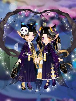 小花仙古巫圣灵套装