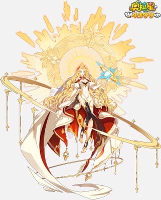 奥拉星太阳女神至臻阿波罗(皮肤)高清大图