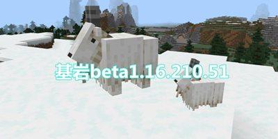 我的世界基岩版beta1.16.210.51发布 洞穴与悬崖更新