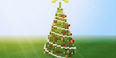 我的世界圣诞树教程 圣诞树怎么做