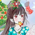 造梦西游5何仙姑贺圣诞