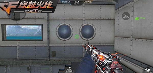 cf手游新版本 掌火玩家设计的主武器登场!QBZ03-夜刃测评