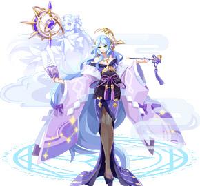 奥奇传说月幕浮梦女帝