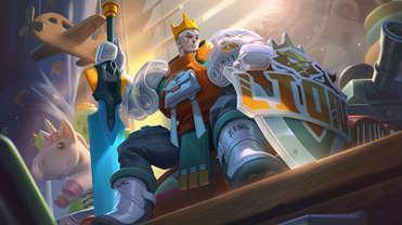 王者荣耀S22战令皮肤抢先看 亚瑟潮玩骑士王