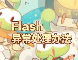 flash异常处理方法
