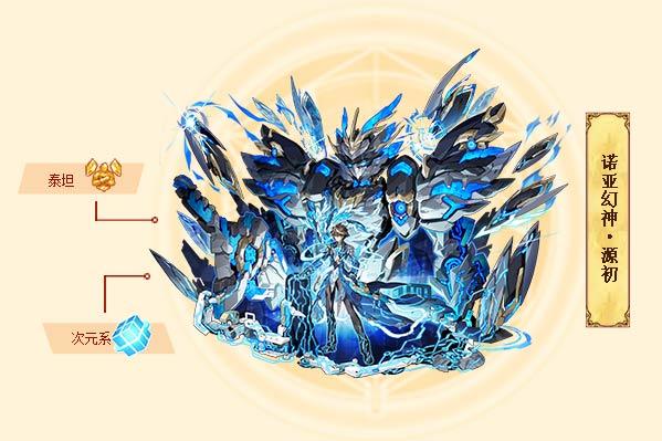 西普大陆诺亚幻神·源初 西普大陆诺亚幻神·源初技能表