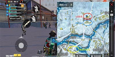 使命战场滑雪胜地来袭,滑雪镇城区介绍