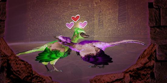 方舟生存进化2月10日情人节星际迷宫地牢 彩虹独角兽限时刷新