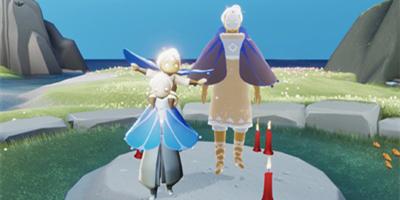 光遇3月11日复刻先祖 背背动作和荧蓝斗篷上线!