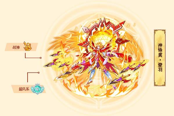 西普大陆神锋翼·燎羽 西普大陆神锋翼·燎羽技能表