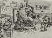 生死狙击玩家手绘 初入实验室