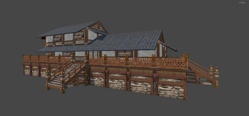 日式风情建筑,温馨建筑再度升级!
