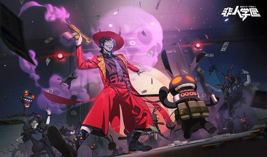 """世界不过是一场大型的游戏 《非人学园》全新明星""""疯狂诡术师""""多宝闪亮登场!"""