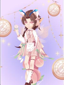 小花仙蜜桃清茶套装