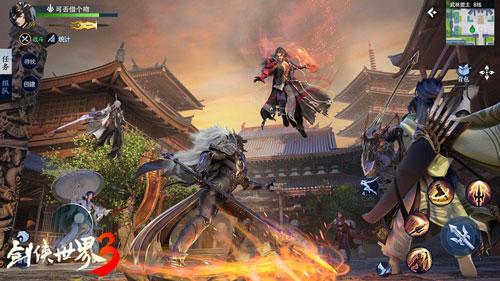 次世代武侠来了!《剑侠世界3》安卓首测定档7月
